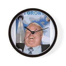Rob Ford Mayor of Toronto Wall Clock