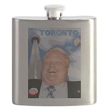 Rob Ford Mayor of Toronto Flask