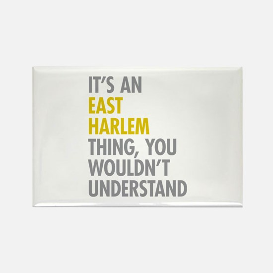 East Harlem Thing Rectangle Magnet