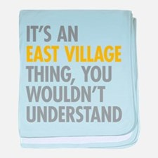 East Village Thing baby blanket