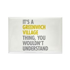 Greenwich Village Thing Rectangle Magnet
