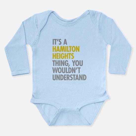 Hamilton Heights Thing Onesie Romper Suit