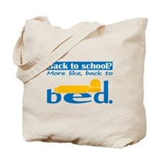 Back to Bed Tote Bag