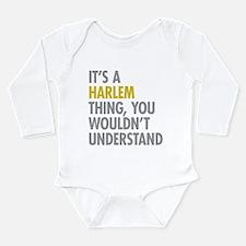 Harlem Thing Long Sleeve Infant Bodysuit