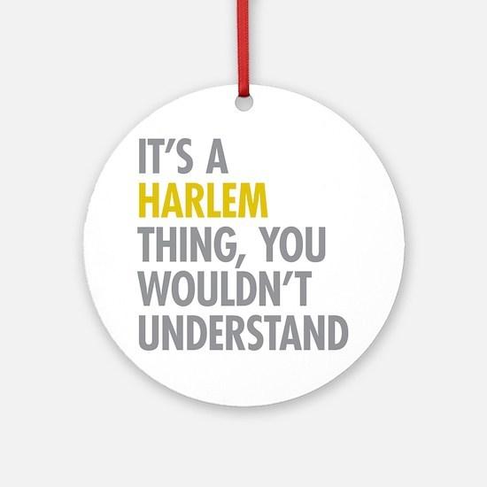 Harlem Thing Ornament (Round)