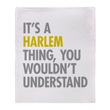 Harlem Thing Throw Blanket