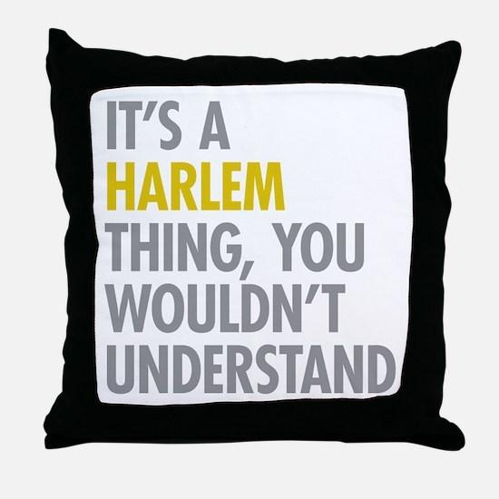 Harlem Thing Throw Pillow
