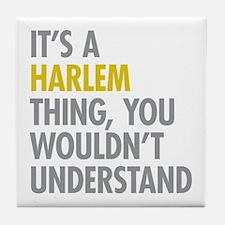 Harlem Thing Tile Coaster