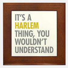 Harlem Thing Framed Tile