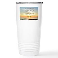 SERENITY PRAYER Travel Mug