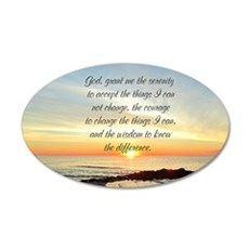 SERENITY PRAYER Wall Sticker