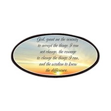 SERENITY PRAYER Patches