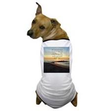 SERENITY PRAYER Dog T-Shirt