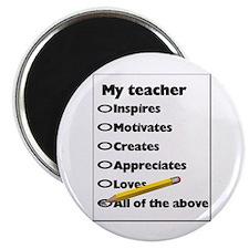 Teacher Appreciation Gifts Magnet