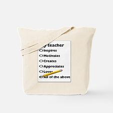Teacher Appreciation Gifts Tote Bag