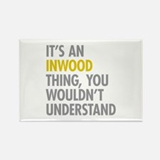 Inwood Thing Rectangle Magnet