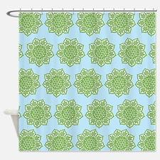 Celtic Knotwork Mandalas Shower Curtain