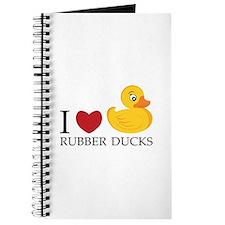 Love Rubber Ducks Journal