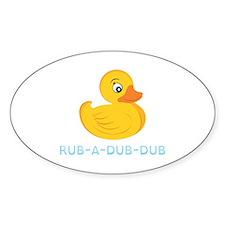 Rub A Dub Dub Decal