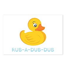 Rub A Dub Dub Postcards (Package of 8)
