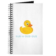 Rub A Dub Dub Journal