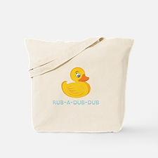 Rub A Dub Dub Tote Bag