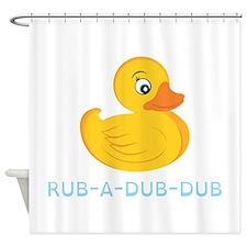 Rub A Dub Dub Shower Curtain