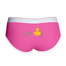 Just Ducky Women's Boy Brief