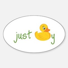 Just Ducky Decal