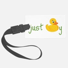 Just Ducky Luggage Tag