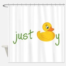 Just Ducky Shower Curtain
