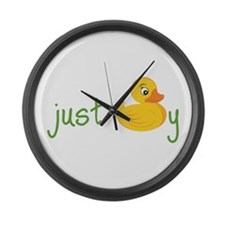 Just Ducky Large Wall Clock