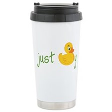 Just Ducky Travel Mug