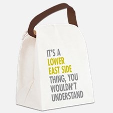 Lower East Side Thing Canvas Lunch Bag