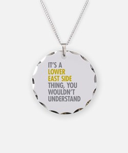 Lower East Side Thing Necklace