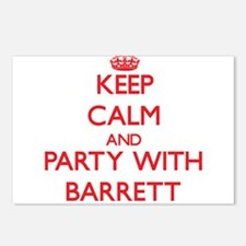 Keep calm and Party with Barrett Postcards (Packag