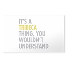 TriBeCa Thing Decal