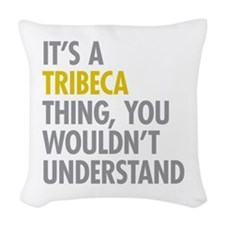TriBeCa Thing Woven Throw Pillow