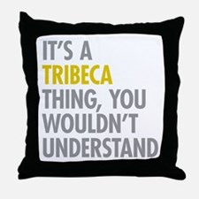 TriBeCa Thing Throw Pillow