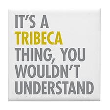TriBeCa Thing Tile Coaster