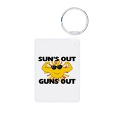 Sun's Out Guns Out Keychains