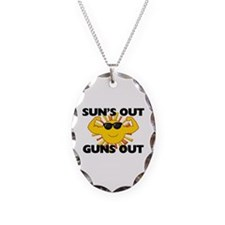 Sun's Out Guns Out Necklace
