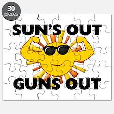Sun's Out Guns Out Puzzle