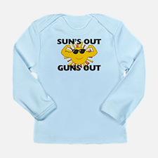 Sun's Out Guns Out Long Sleeve Infant T-Shirt
