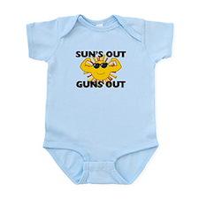 Sun's Out Guns Out Infant Bodysuit