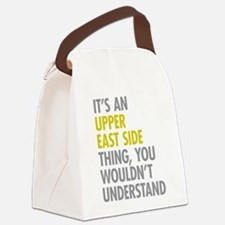 Upper East Side Thing Canvas Lunch Bag