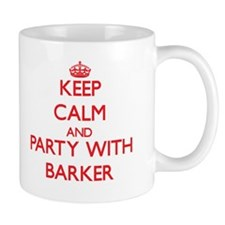Keep calm and Party with Barker Mugs