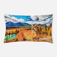 River Cougar Pillow Case