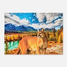 River Cougar 5'x7'Area Rug