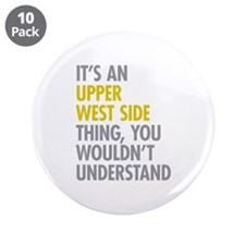 "Upper West Side Thing 3.5"" Button (10 pack)"
